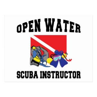Open Water SCUBA Instructor Postcard