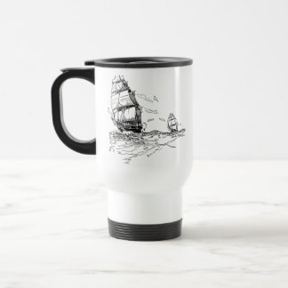 Open Water Series V 15 Oz Stainless Steel Travel Mug