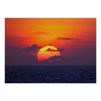 OPEN WATER SUNSET PRINT