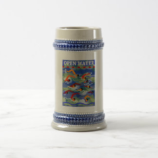OPEN WATER Swim Beer Stein