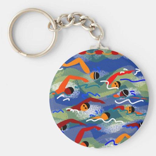 OPEN WATER Swim Key Chain