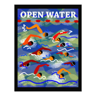 OPEN WATER Swim Letterhead