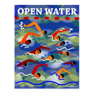 OPEN WATER Swim Post Card