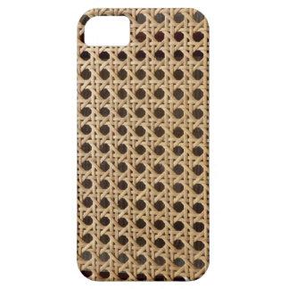 Open Weave Rattan Cane iPhone SE+5/5S Case