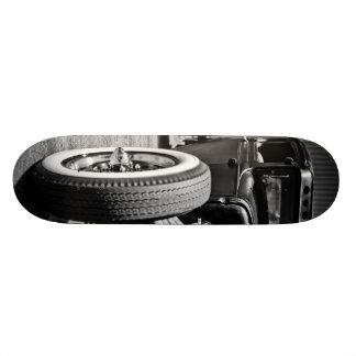 Open Wheel Hot Rod/Rat Rod 3 Deck Skate Deck