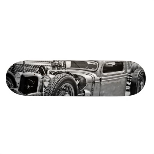 Open Wheel Hot Rod/Rat Rod 5 Deck Skate Board