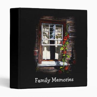 OPEN WINDOW ARTWORK: BINDER: MEMORIES BINDER