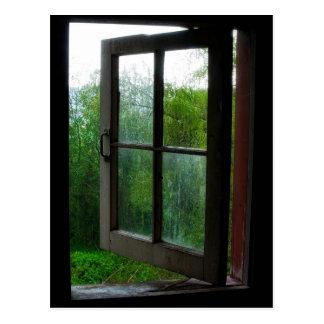 Open  Window Postcard