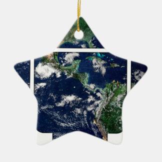 Open World Ceramic Ornament