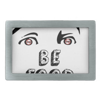 Open Your Eyes Be Food Wise Belt Buckle