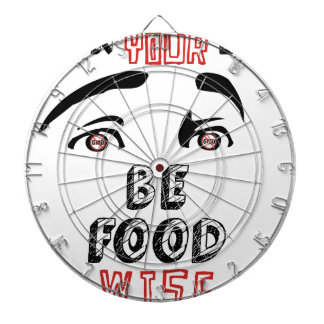 Open Your Eyes Be Food Wise Dart Board