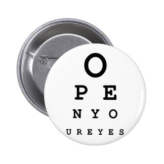 Open Your Eyes Pins
