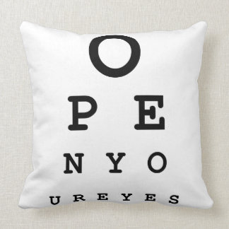 Open Your Eyes Pillows