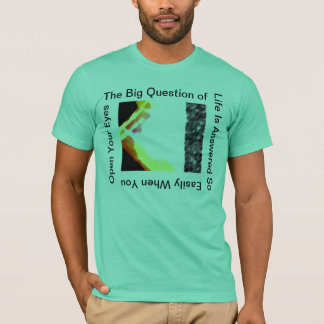 Open Your Eyes  Sea Green T-Shirt