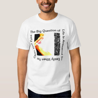 Open Your Eyes  WhiteT-Shirt T-shirt