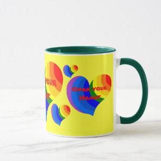 Open your Heart mug