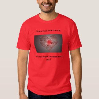 Open your heart-T-Shirt T Shirt