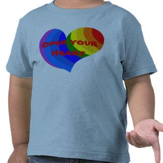 Open your Heart toddler shirt