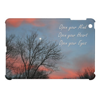 Open your Mind, Heart & Eyes / Inspiration Case For The iPad Mini