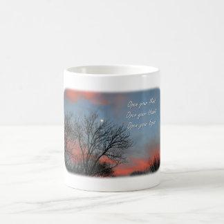 Open your Mind, Heart & Eyes / Inspiration Coffee Mug