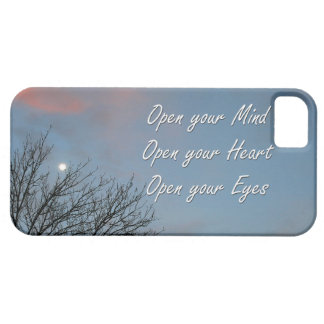 Open your Mind, Heart & Eyes / Inspiration iPhone SE/5/5s Case