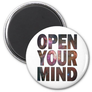 Open Your Mind Refrigerator Magnets