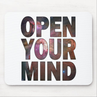 Open Your Mind Mouse Pad
