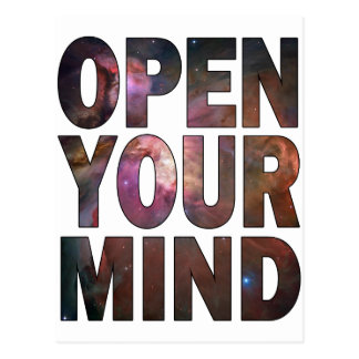 Open Your Mind Postcard