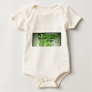 OPEN YOUR MIND TO CHANGE BABY BODYSUIT
