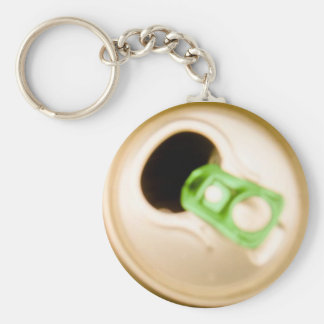 Opened Broad Chaveiro Basic Round Button Keychain