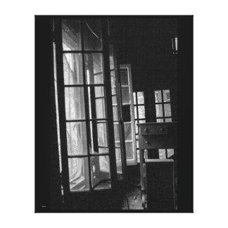 Opened Windows Canvas Print