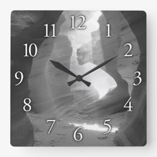 """""""Opening"""" Canyon Square & Round Wall Clock"""