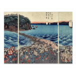 Opening celebration in Soshu by Ando,Hiroshige Postcards