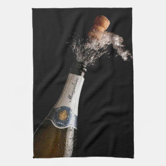 Opening Champagne Kitchen Towels