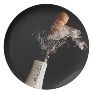 Opening Champagne Plate