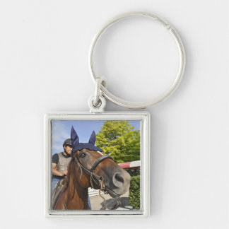 Opening day at Saratoga 150 Keychains