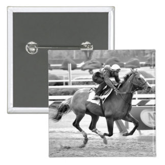 Opening Day at Saratoga Pinback Button