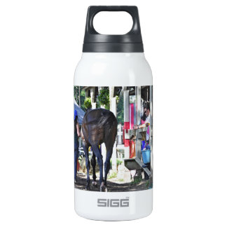 Opening Day at Saratoga Insulated Water Bottle