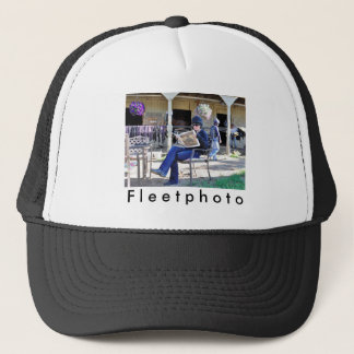 Opening Day at Saratoga Trucker Hat