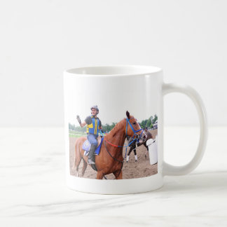 Opening Day at Saratoga with Rudy Rodriguez Coffee Mug