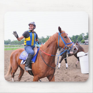 Opening Day at Saratoga with Rudy Rodriguez Mouse Pad