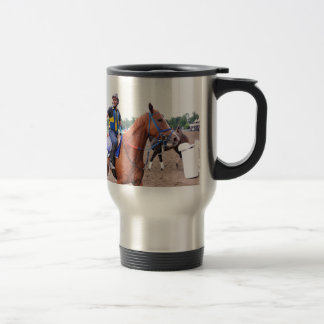 Opening Day at Saratoga with Rudy Rodriguez Travel Mug