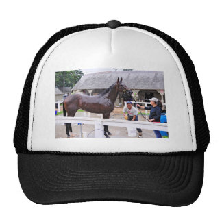 Opening Day at the Saratoga Trucker Hat