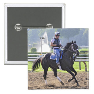 Opening Day at the Spa Pinback Buttons