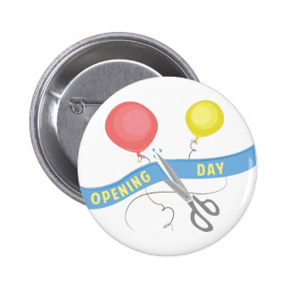 Opening Day Pinback Button