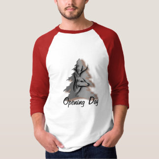 Opening Day  Customizable Hunting T-Shirt