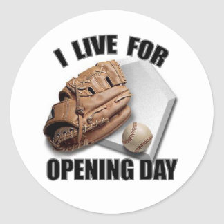 OPENING DAY STICKERS