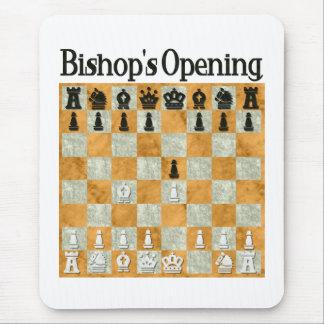 Opening de obispo tapetes de ratón