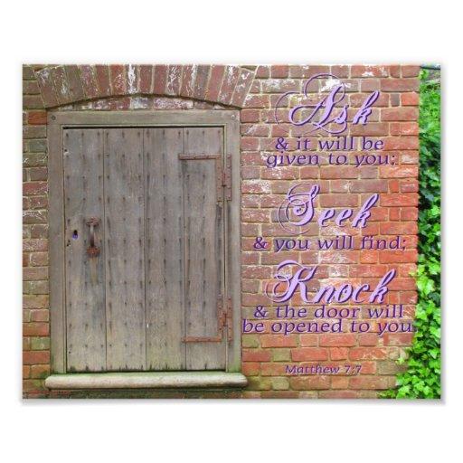 Opening Doors Print Photographic Print