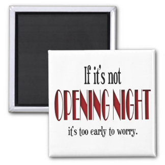 Opening Night Cast Gift 2 Inch Square Magnet